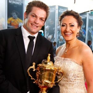 Mel Robinson and Richie McCaw