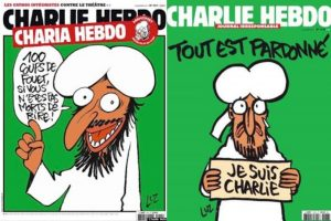 Charlie Hebdo covers. 2011 vs 2015
