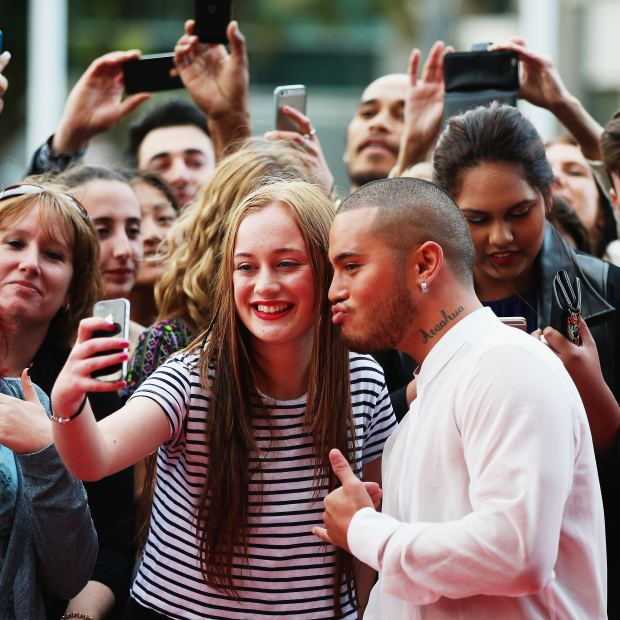 Stan Walker. Still riding high as an X Factor judge - and unscathed by the mess engulfing two of his co-judges. Here he is basking in fandom frenzy at the NZ Music Awards late last year. Photo: Hannah Peters/Getty Images