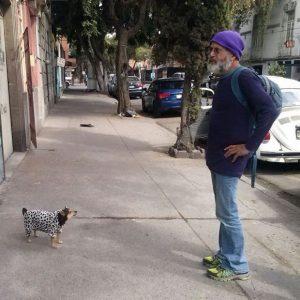 Piripi and el perro (dog)