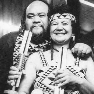 At the 1984 NZ Music Awards where Dalvanius and the Patea Māori Club won Best Polynesian Album