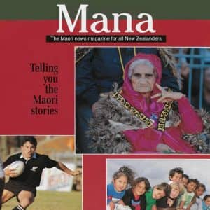 The first issue of Mana magazine published in 1993.