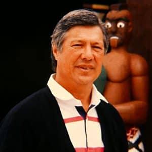 Pā Tate outside Tamatea in 1990