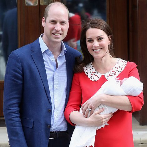 William, Kate and Louis – part of a closely managed global brand.