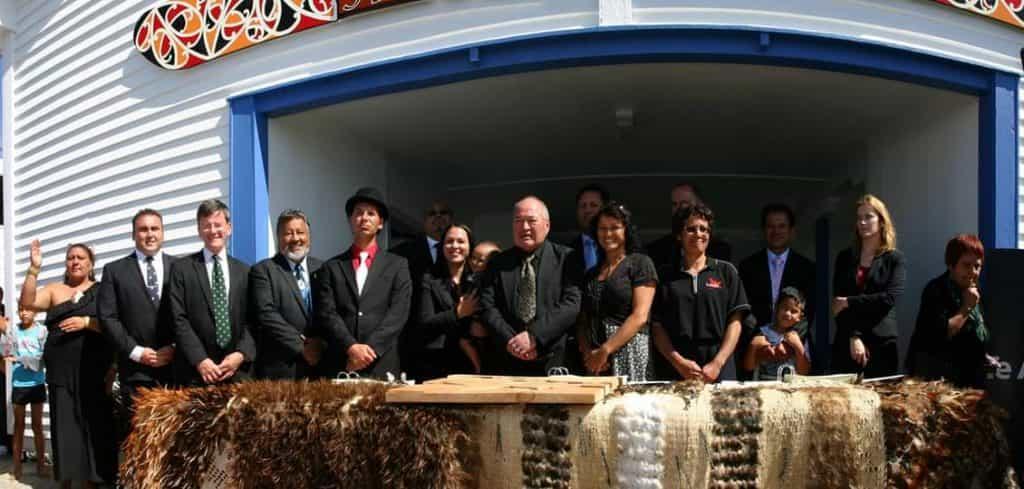 Te Aupouri Deed of Settlement signing Pōtahi Marae, Te Kao January 2012