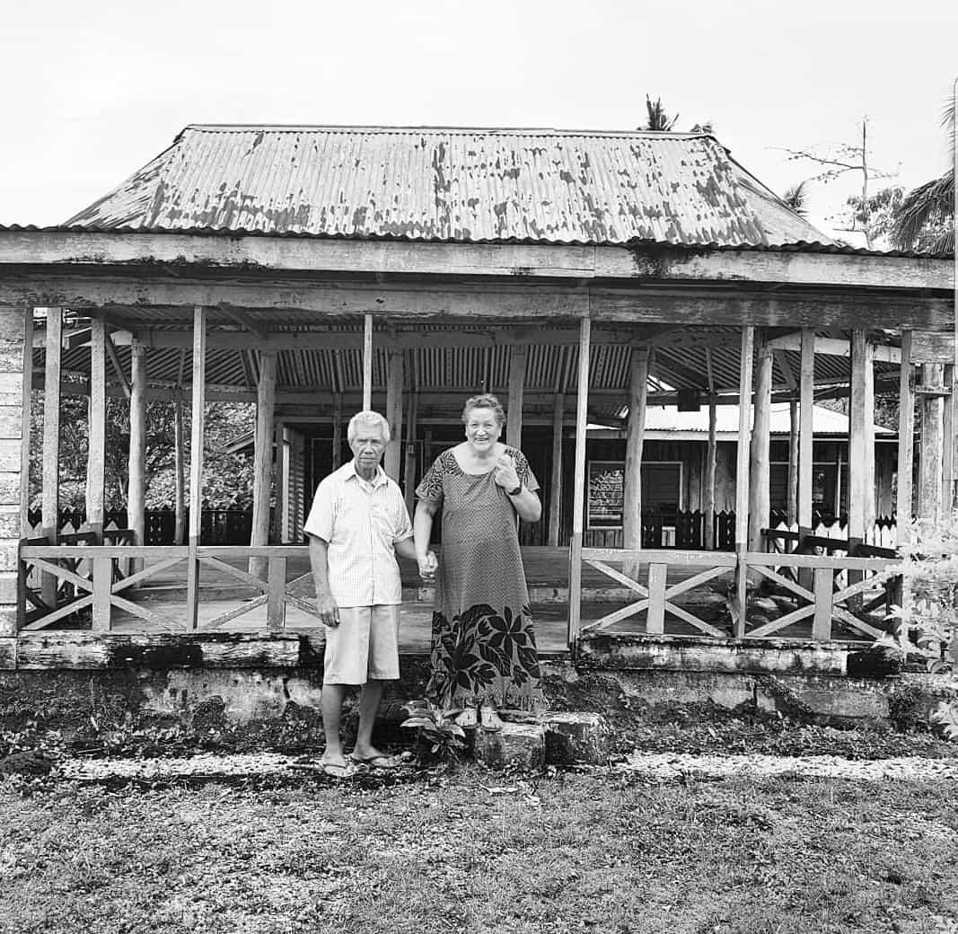 Lani Wendt's parents Tuaopepe Felix Wendt and Marita Wendt.