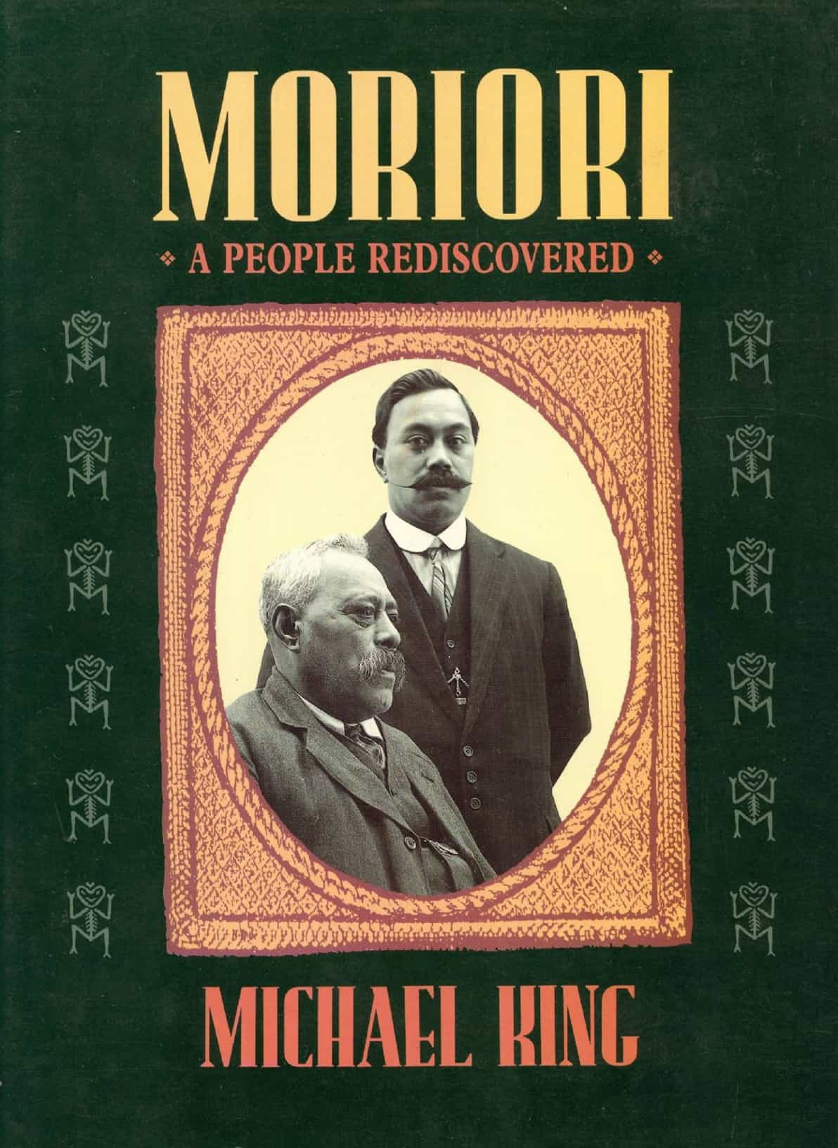 Cover of Michael King's book Moriori: A People Rediscovered.