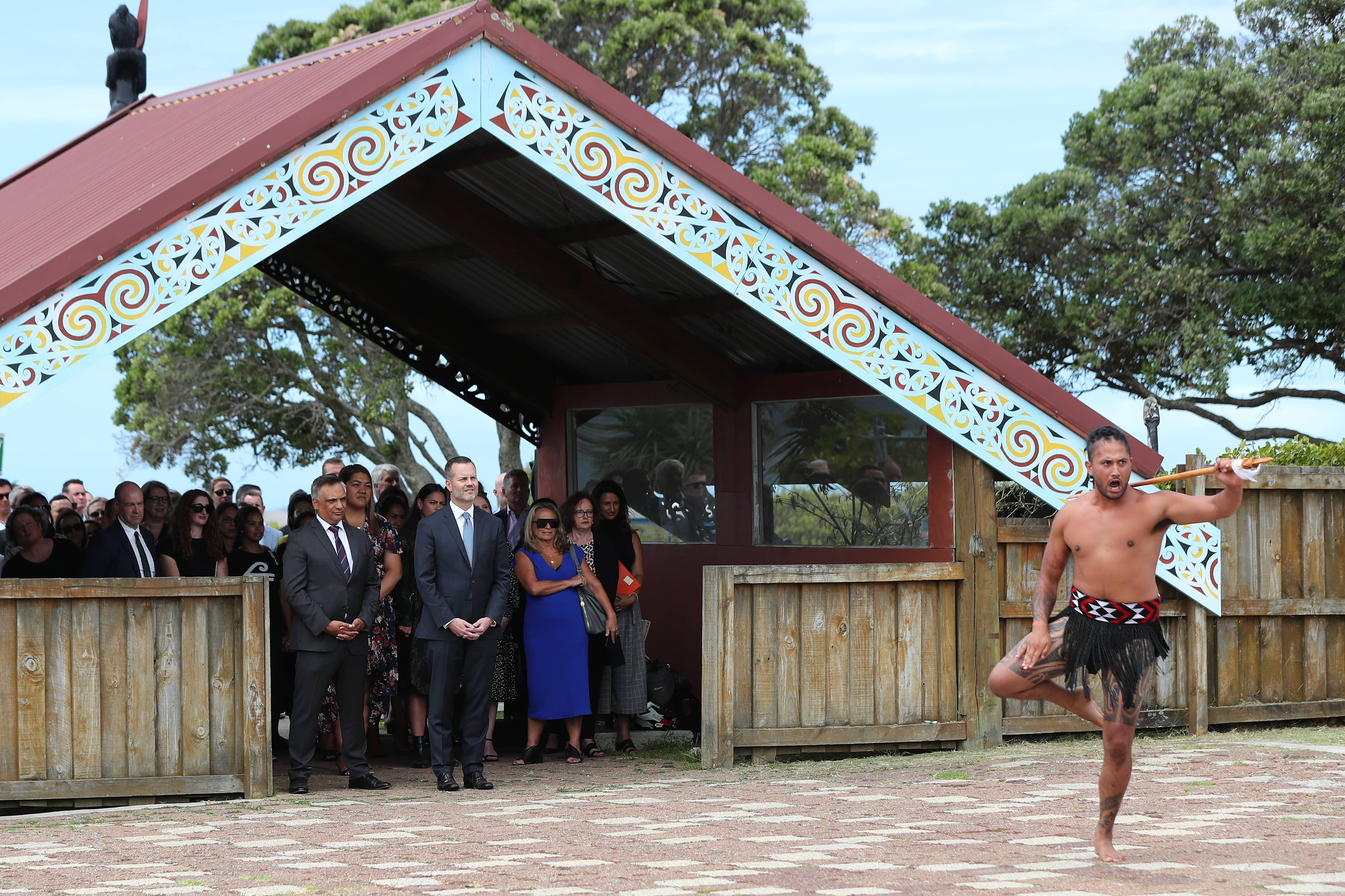 Ōrākei Marae, Auckland. (Photo: Michael Bradley/Getty Images for ATEED)