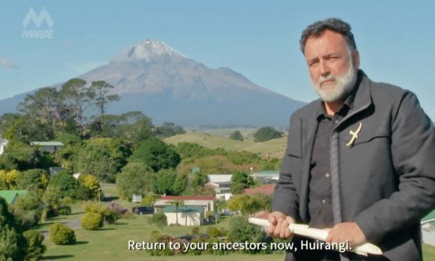 Whaikōrero with subtitles