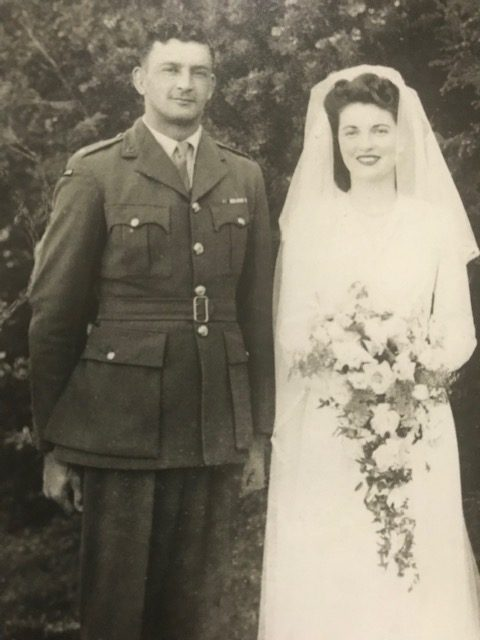 Papaarangi Reid's parents William John Reid and Jean Mary Drury on their wedding day.