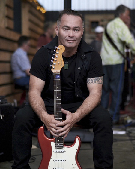 Billy Te Kahika, musician turned politician and leader of the New Zealand Public Party. Picture: NZPP