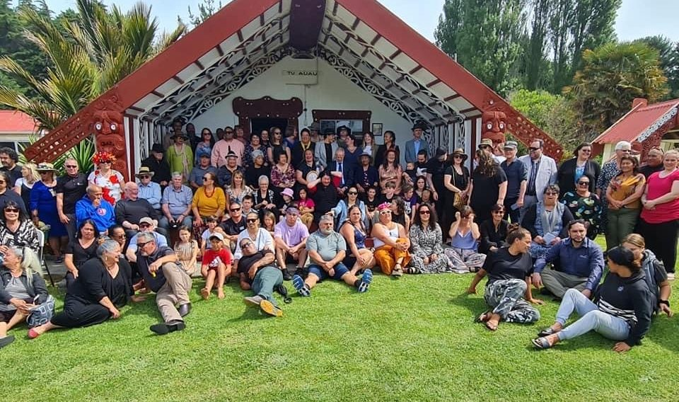Reporua Marae on Nov 1, 2020 when Ngāti Rangi (my hapū) welcomed Judge Becroft and staff from OCC to our Marae and celebrated my appointment as the first Assistant Māori Commissioner for Children