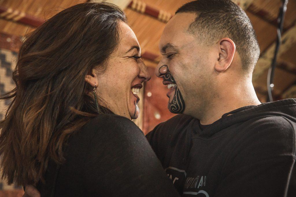 Kristin Ross and Hōhepa Tuahine