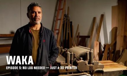 WAKA Episode 5: No log needed — just a 3D printer