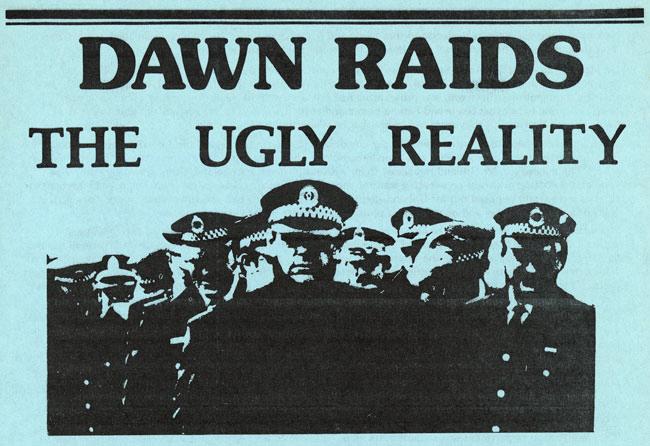 The Dawn Raids of 1974