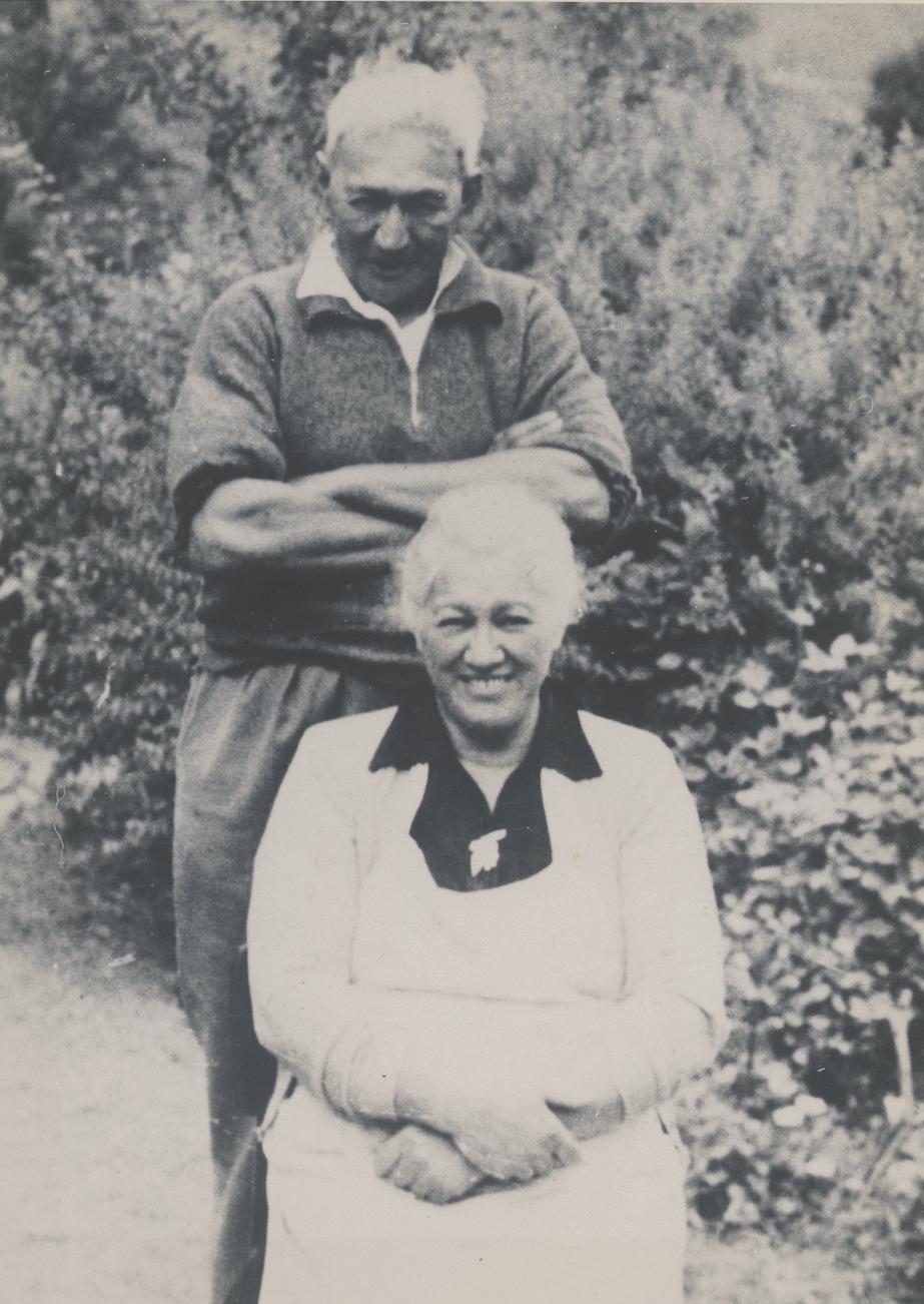 Marks grandparents.Rangi and Miriama Solomon née Beaton-Morel. Darcia Solomon Collection, courtesy Ngāi Tahu Archive, 2021-0842